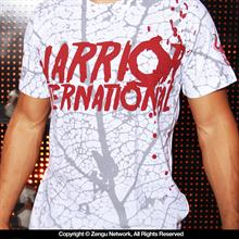 Warrior International White & Red Shirt